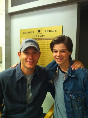 Jensen with Colin Ford