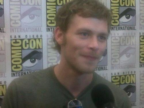Joseph مورگن at Comic Con