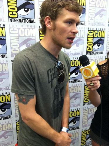 Joseph morgan at Comic Con