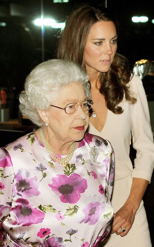 Kate Middleton Tours Wedding Dress Display