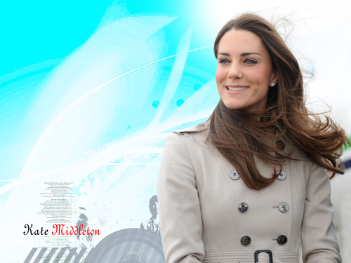 Kate Middleton - prince-william-and-kate-middleton Wallpaper