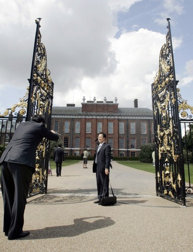 Kate Middleton's New ホーム -William's mother, Princess Diana, lived in Kensington Palace