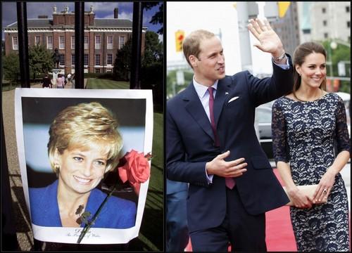 Kate Middleton's New utama -William's mother, Princess Diana, lived in Kensington Palace
