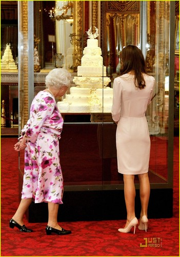 Kate's Wedding Dress Displayed at Buckingham Palace