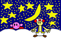 Kirby and Toad: Sweet Dreams - kirby fan art