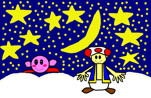 Kirby and Toad: Sweet Dreams