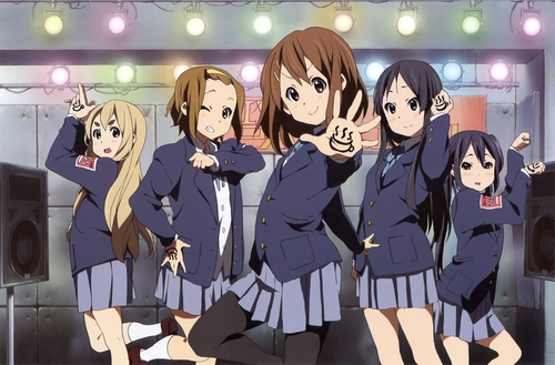 K-ON! wallpaper with anime called Live House
