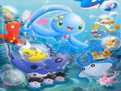 Manaphy and friends