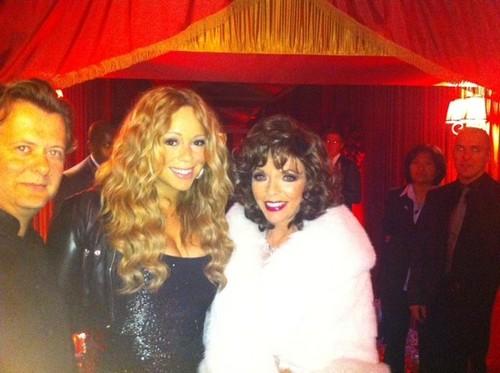 Mariah at Prince Azim's Birthday Bash