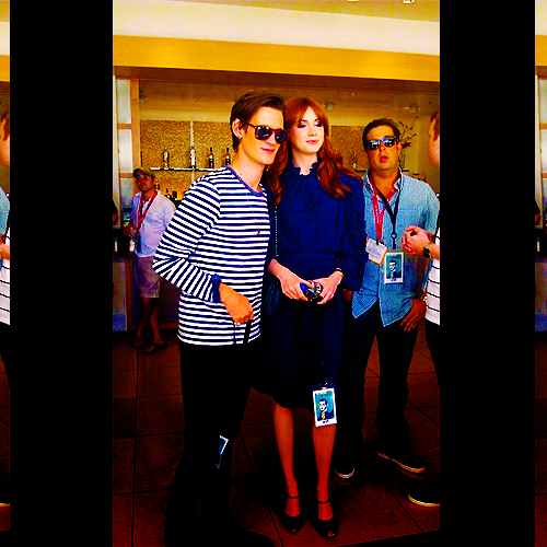 Matt Smith & Karen Gillan @ San Diego 23/7/11