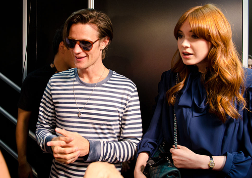 Matt Smith & Karen Gillan @ San Diego Comic Con 23/7/11