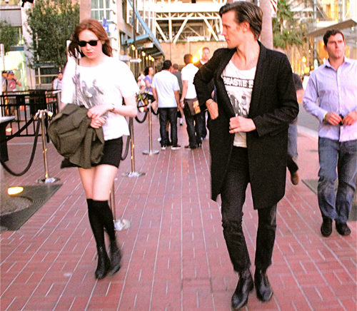 Matt Smith & Karen Gillan @ San Diego Comic-Con 23/7/11