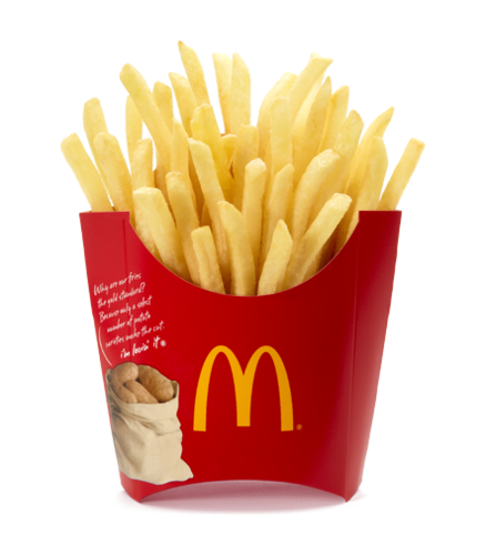 cynthia-selahblue (cynti19) Hintergrund entitled McDonald's French Fries