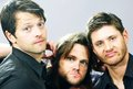 Misha, Jared and Jensen ~♥~