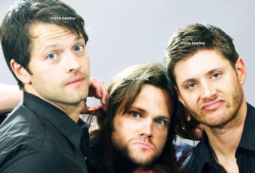 Misha, Jared and Jensen ~♥~