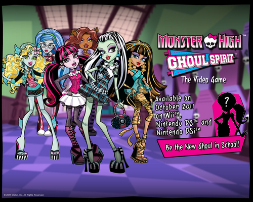 Monster High Video Game for NDS and Wii October 2011