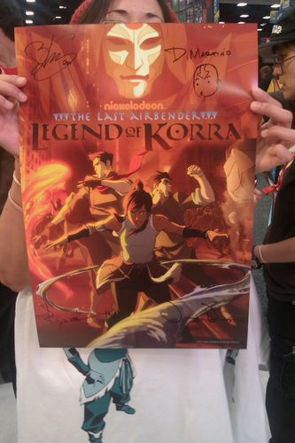 NEW KORRA OFFICIAL POSTER IN HQ