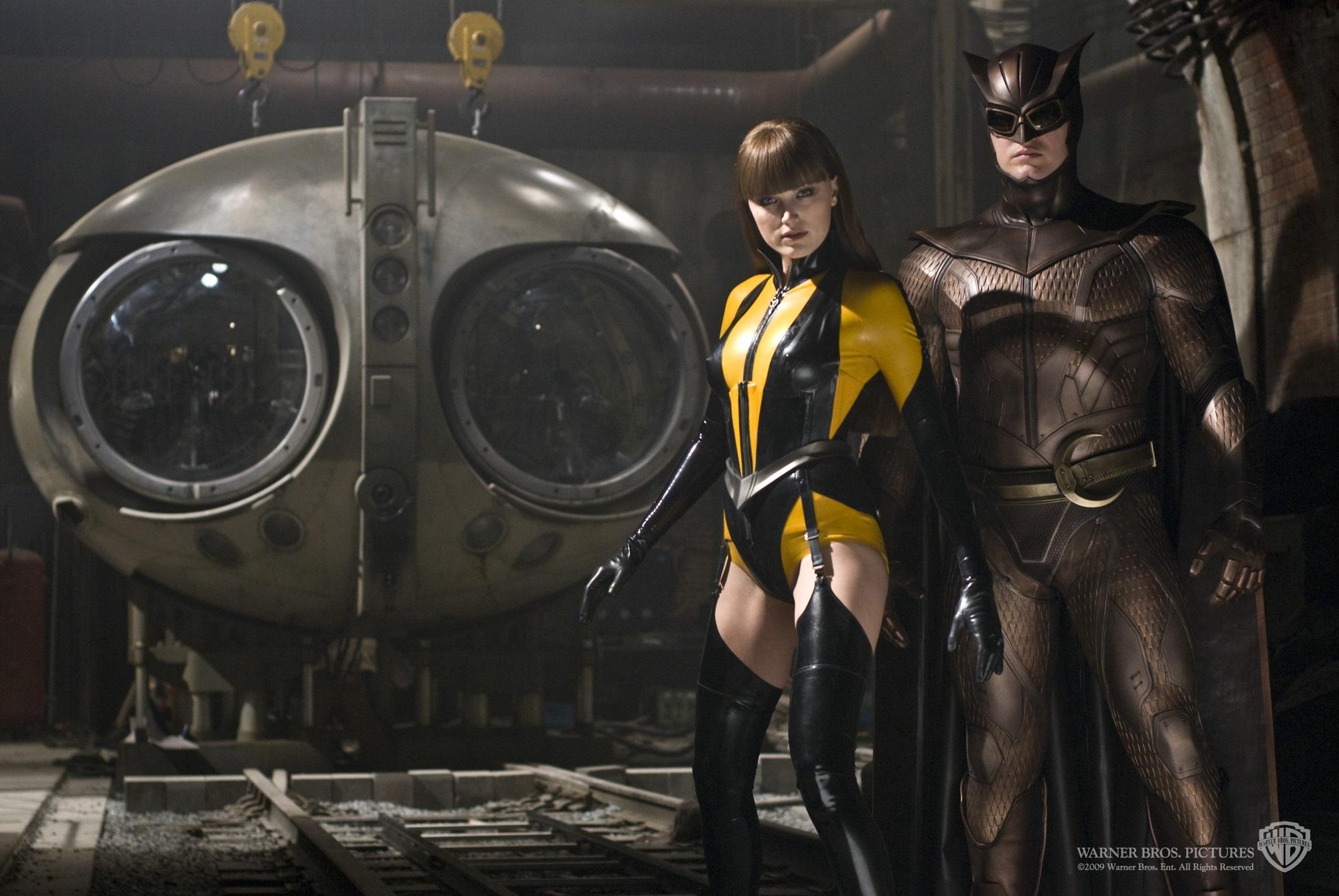 Watchmen silk spectre and night owl scene