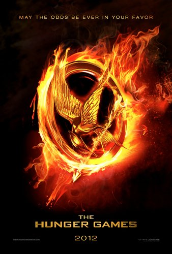 The Hunger Games Movie wallpaper probably with a fire and anime titled Official 'The Hunger Games' movie poster