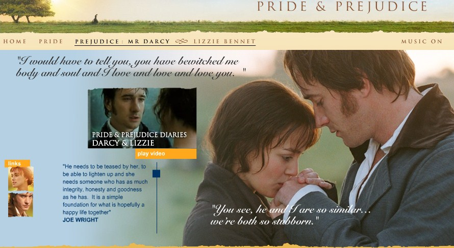 pride and prejudice characters Pride & prejudice (2005) cast and crew credits, including actors, actresses, directors, writers and more.