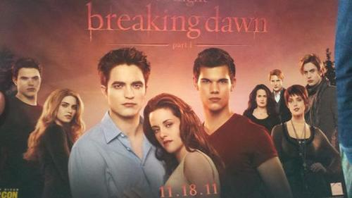 Partial Breaking Dawn Official poster