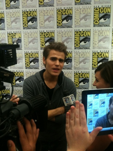Paul at Comic Con