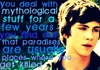 Percy Jackson Series fotografia with a portrait entitled Percy Jackson Quote