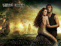 Philip and Syrena wallpaper - astrid-berges-frisbey wallpaper