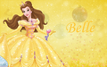 Disney Princess mga wolpeyper - Princess Belle