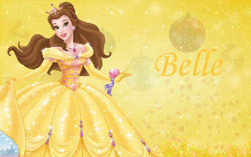 Disney Princess kertas-kertas dinding - Princess Belle