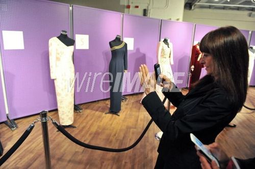 Princess Diana Dress Auction At Waddington's Auctioneers