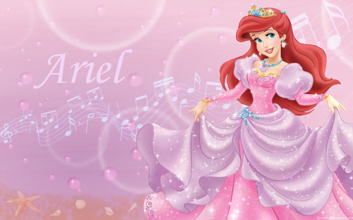 disney princesas wallpaper probably containing a bouquet entitled Princess ariel1