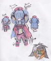 Random drawings~ .D. - rima-the-hedgehog-and-friends photo