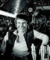 Relaxing on the set of étoile, star Wars