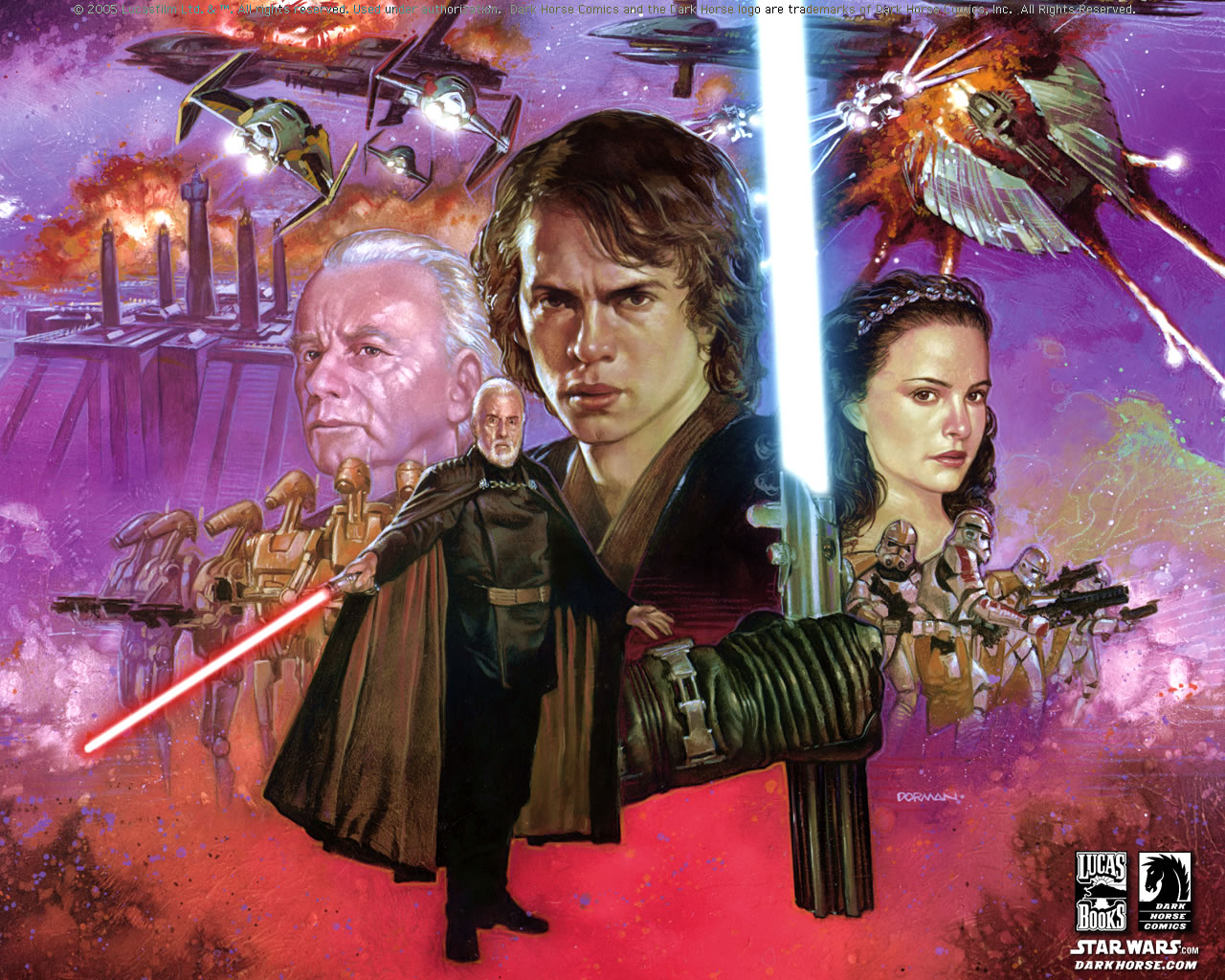 Revenge Of The Sith Star Wars Revenge Of The Sith Wallpaper 23948858 Fanpop