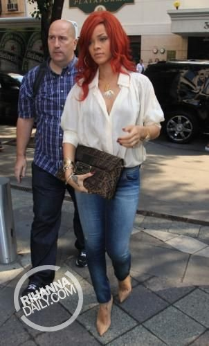 Rihanna - Out and about in New York City - July 20, 2011