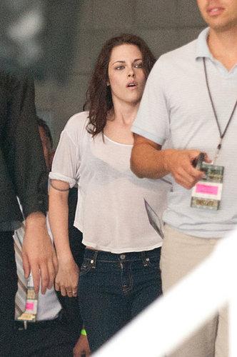 Rob & Kristen at Comic Con 2011