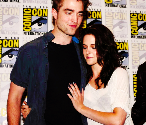 Rob & Kristen at Comic Con 2011