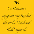Romione Facts - harry-potter fan art