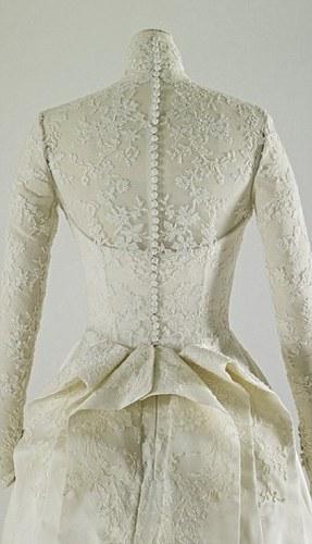 Royal Wedding Dress at Buckingham Palace