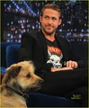 Ryan Gosling & George Visit Jimmy Fallon - ryan-gosling photo