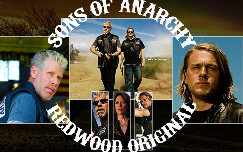 Sons Of Anarchy wallpaper with anime entitled SAMCRO