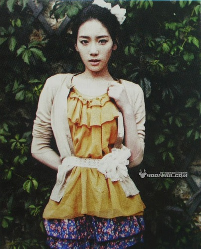 SNSD Taeyeon Vogue Girl August 2011