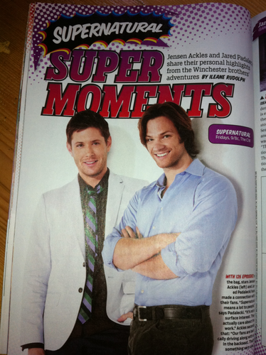 SPN - Comic Con issue of TV Guide