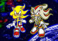 SUPER SHADOW AND SONIC