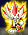 SUPER SHADOW AND SONIC - super-sonic-and-super-shadow fan art