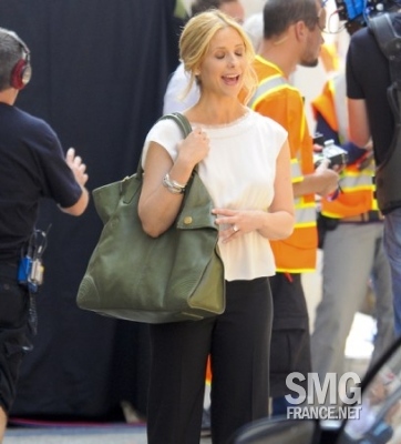 Sarah Filming Ringer (22/July/11)