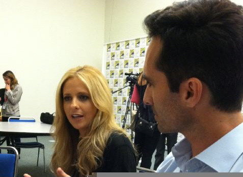 Sarah interview @ comic con 2011