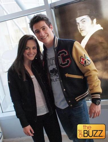 Scott & Tessa just being cute <3