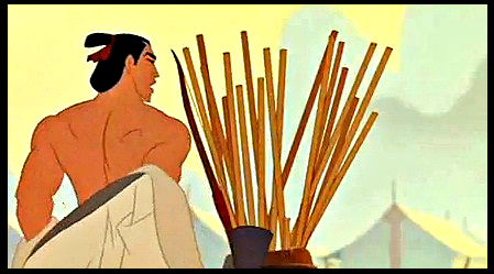 Shang's sexy back